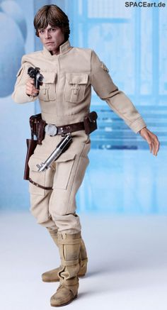 Star Wars: Luke Skywalker in Bespin Outfit, Fertig-Modell, http://spaceart.de/produkte/sw008.php