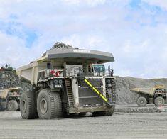 T 284 - Liebherr Mining Equipment, Heavy Equipment, Bengalischer Tiger, Barrow Street, Heavy Machinery, Cummins, Monster Trucks, Vehicles, Baggers