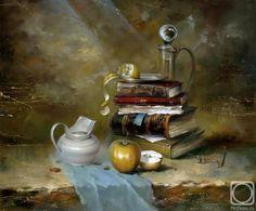 Натюрморты с книгами