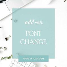 Font Change in WordPress Theme Add-On