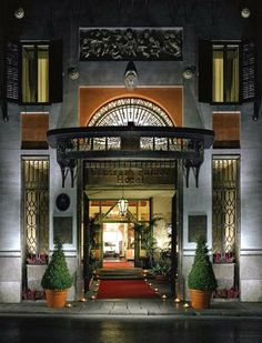 Centrale Palace Hotel in Palermo, Sicily  NB a four star hotel, formerly, 17th century palace. when in Palermo, it's worth splurging for a safe and comfortable accommodation.