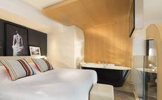 Chambre Duplex   LE CINQ CODET Hôtel