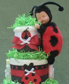 4-Tier Anne Geddes Diaper Cake