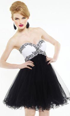 Organza A-line Sweetheart Short Formal Dresses FSAU1409P801594 - formalsydney.com