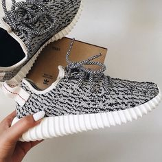 93abe4e34bb60 grey yeezys black and white yeezys only worn 2 times Yeezy Shoes Sneakers -  o shoes store