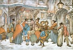 Anton Pieck was a Dutch painter and graphic artist. The work of Anton Pieck contains paintings in oil and watercolour, etchings. Anton Pieck, Dutch Painters, Dutch Artists, Arabian Nights, 3d Prints, Christmas Carol, Vintage Christmas, Christmas Time, Vintage Winter