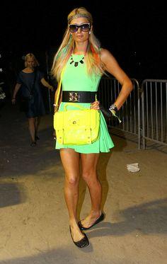 Paris Hilton at The Coachella Valley Music and Arts Festival April 21-2012