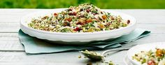 James Martin's cauliflower couscous with maple syrup dressing