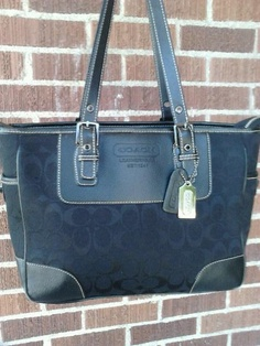Coach Purse~Tote with Free ship & Track! $65.00