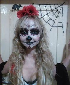 Halloween smink - La Muerte