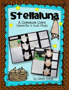 Stellaluna A Common Core Book Study from AroundTheKampfire on TeachersNotebook.com -  (46 pages)  - Stellaluna common core book study  with mini-lessons, literacy centers and foldable project booklet.