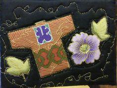 Fabric Postcard Kimono by RobbieSews on Etsy, $10.00