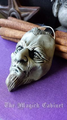 "Spirit Masks Odin Mask The All Father Altar by TheMagickCabinet Odin: The ""All Father"" God of war, associated to wisdom, poetry, and magic (The Ruler of the gods)."