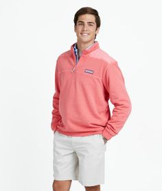 Flats Boat Shep Shirt in Jetty Red (i.e. pink)