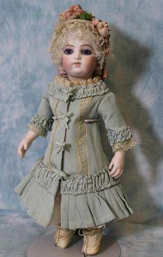 "Rare 14"" Early Antique Bru Brevete Original Skin Wig Doll Marked 2/0 1879-1880 | Dolls & Bears, Dolls, Antique (Pre-1930) | eBay!"