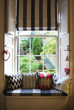 Perfect spot to sit and read or read and have snacks--Chris and Sam's Elegant Family Duplex in Edinburgh
