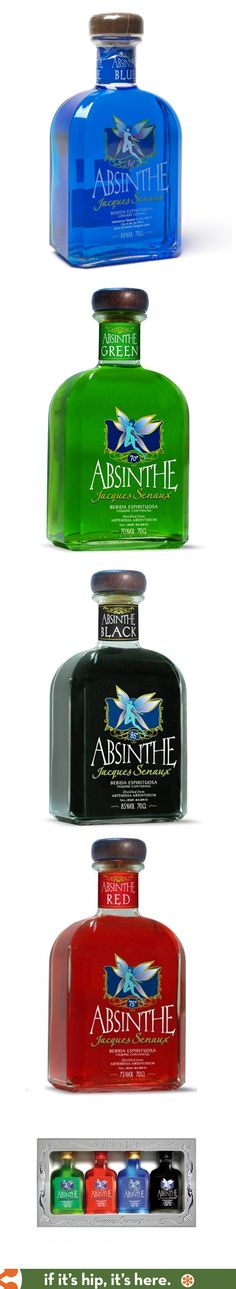 Jacques Senaux Absinthes.