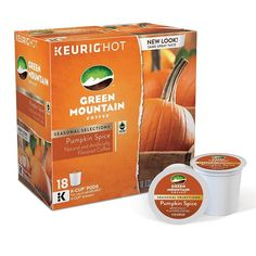 Keurig® K-Cup® Pod Green Mountain Coffee Pumpkin Spice Coffee - 18-pk., Multicolor