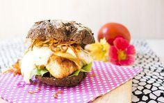 Low Carb Chicken Burger mit Pastinaken Fries – Low Carb Köstlichkeiten
