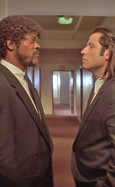 """Pulp Fiction - """"Don't be tellin' me about foot massages. I'm the foot fuckin' master"""" - Jules Winnfield. Jules and Vincent arguing over the merits of a foot massage #GangsterFlick"""