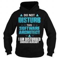 SOFTWARE ARCHITECT T Shirts, Hoodies, Sweatshirts. CHECK PRICE ==► https://www.sunfrog.com/LifeStyle/SOFTWARE-ARCHITECT-109323668-Black-Hoodie.html?41382