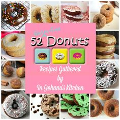 52 Gluten-Free Donuts | In Johnna's Kitchen