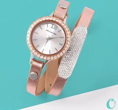 Rose Gold #OrigamiOwl signature Twist Watch coming 8/3/15 These make great #gifts SHOP - PARTY - SELL!