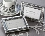 Double Ring Romance Mini Photo Frame / Place Card Holder Brilliantly polished metal photo frame with double ring design is a perfect symbol of union. Whether a wedding reception placeholderr, or used as a keepsake giveaway for any special occasion, Mini Photo Frames, Metal Photo Frames, Picture Frame, Unique Wedding Favors, Trendy Wedding, Wedding Reception, Wedding Ideas, Dream Wedding, Wedding Giveaways