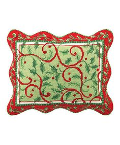 Take a look at this Holly Days Throw Pillow by Peking Handicraft on #zulily today!