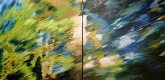 "Saatchi Art Artist Tatianna M ODonnell  SCA  ASA; Painting, ""Stillness as Motion"" #art"