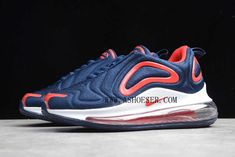 Products Descriptions:  Nike Air Max 720 Navy Blue Red-White Kids Sizing AO2924-461 For Sale  SIZE AVAILABLE: US11C=UK10.5C=EUR28=17CM US12C=UK11.5C=EUR29=18CM US13C=UK12.5C=EUR31=19CM US1.0Y=UK13C=EUR32=20CM US2.0Y=UK1.0Y=EUR33=21CM US2.5Y=UK1.5Y=EUR34=21.5CM US3.0Y=UK2.0Y=EUR35=22CM  Tags: Kid's Nike Shoes, Air Max 720, Kids Air Max 720 Model: NIKEAIRMAX720-AO2924-461 5 Units in Stock Manufactured by: NIKEAIRMAX720 Air Max Sneakers, Sneakers Nike, Red And Blue, Navy Blue, Nike Zoom Kobe, Nike Zoom Pegasus, Striped Canvas, Nike Air Force Ones, Discount Nikes