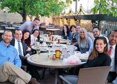 What a great picture of our Under 40 Networking Group. The food and drinks from Moretti's were delicious!