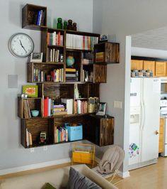 Photo : Une bibliothèque