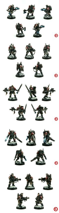 Space wolf scouts