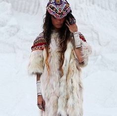 It would be cool to do a winter photoshoot like this one day