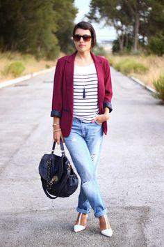 Boyfriend+Stripes+burgundy