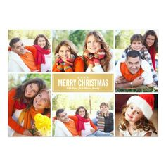 Spread Holiday Cheer and the Christmas Spirit with Modern Christmas Photo Cards. This holiday season, send out affordable and beautiful personalized modern Christmas photo cards with photos of your family and any card design you want. Merry Christmas Photos, Christmas Collage, Merry Christmas And Happy New Year, Christmas Photo Cards, Modern Christmas, Christmas Greeting Cards, Christmas Greetings, Red Christmas, Holiday Cards
