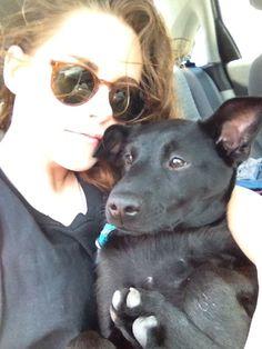 New/Old Photo of Kristen & Her Dog Cole | Kristen Stewart News