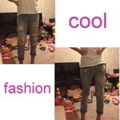 Fashion Summer Style Women Ripped Jeans - Jeans - Look Love Lust