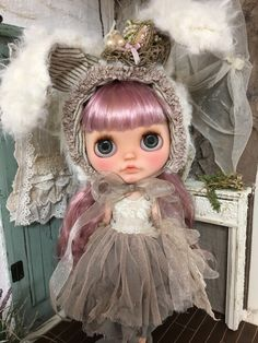 Blythe Doll. Salon de Junie Moon
