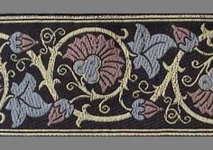 3 Yards Trim Jacquard Ribbon Medieval Arts & by heritagetrading, $11.99