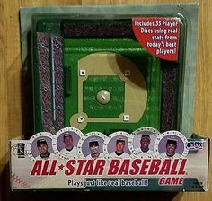 2004 Cadaco All Star Baseball Game includes 35 Player Discs Jeter, Piazza, NIB