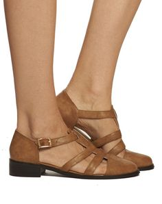 Josie Fisherman Sandal - Brown - was $135 - Cri de Coeur vegan sandals