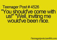Teenager Post lol I think this happens to adults more. Teenager Quotes, Teen Quotes, Funny Quotes, Crazy Quotes, Quotes Quotes, Funny Memes, Teen Posts, Teenager Posts, Just For Laughs