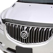 Enclave Molded Hood Protector, Smoke: Protect your Enclave from bugs and road debris with this hood protector that mounts flush with the hood. 2015 Buick, First Class Seats, Buick Enclave, Engineering, Smoke, Lund, Leather, Black, Black People