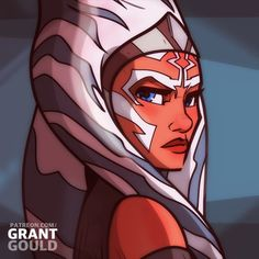 Rebels Ahsoka (Image credit: Grant Gould).   Featured in Team Ahsoka's Fan Art Friday #1 - https://teamahsoka.wordpress.com/2016/04/08/fan-art-friday-1/