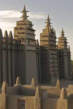 The Grand Mosque, Djenne, Mali by Anton Crone (This is the greatest mud structure on earth. You can see it from space. Just type Djenne, Mali in Google Earth.)