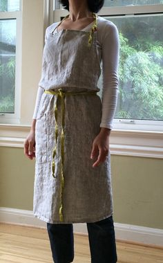 Hey, I found this really awesome Etsy listing at https://www.etsy.com/listing/236521217/linen-apron-in-mix-natural-with-straps