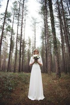 Mariage Hiver Scandinave - Design Dessine-moi une etoile - Fleurs Aude Rose - Photo Annaimages - Ceremonie laique