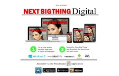 NextBigThing Digital Edition now available on all mobile devices | Install @PressReader app from your different mobile app stores; Search for Next Big Thing inside PressReader app, and download the digital edition directly to your mobile device from anywhere around the world |